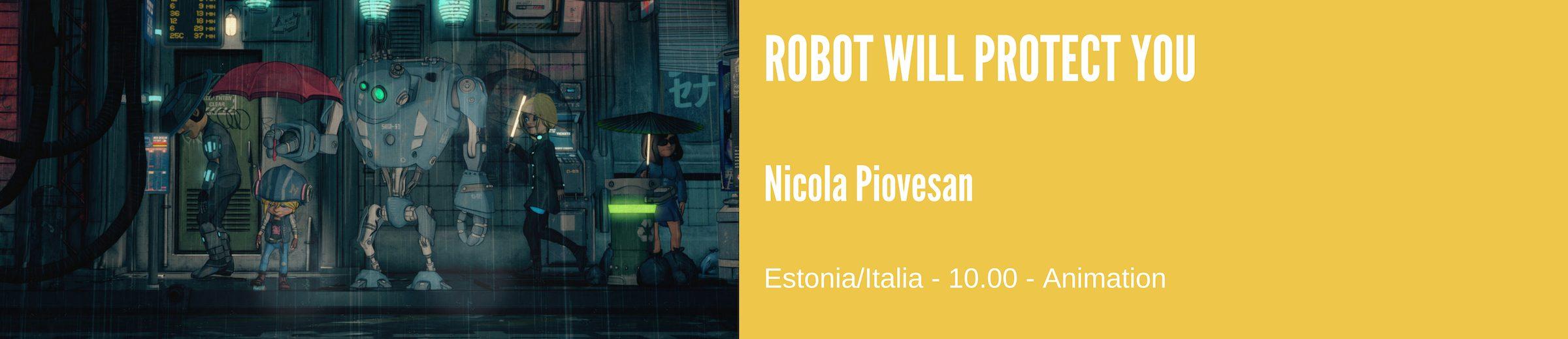 robot will